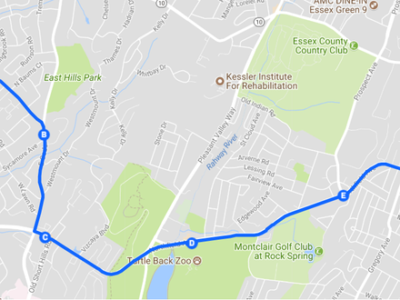 A New Route for Livingston/West Orange!