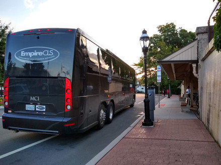 Boxcar's May Transportation Schedule