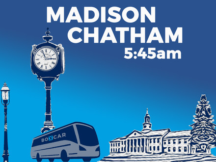An earlier Boxcar commute for Madison and Chatham!