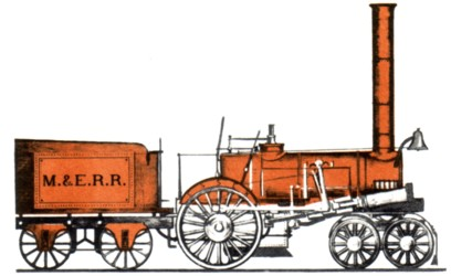 "The ""Orange,"" Chatham and Madison's first locomotive"
