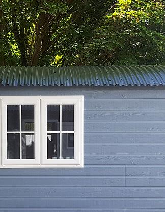 Shepherd Hut Corrugated Roof