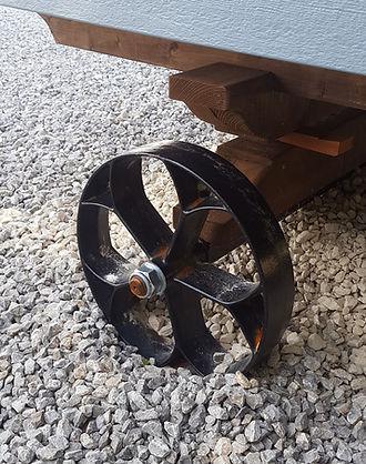 Shepherd Hut Wheel