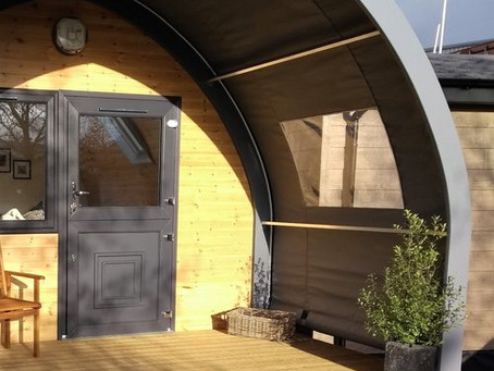 UK's first 'fully accessible' glamping pod in production ready for the 2018 season...