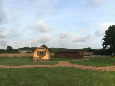 Why get into glamping?