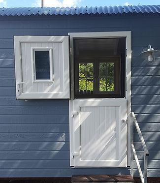 Shepherd Hut Stable Door