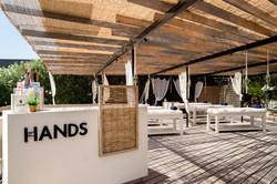 The Hands in Varkiza resort