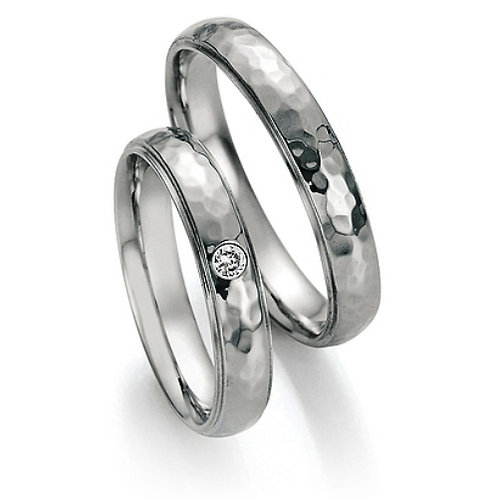 Eheringe Verlobungsringe Steel mit Diamant
