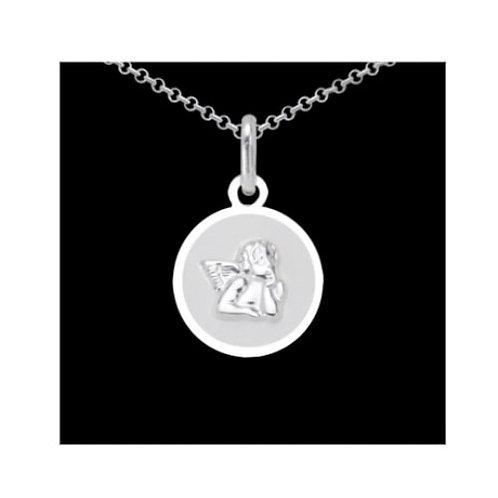 925 Silber Anhänger Engel Rhodiniert mit od. ohne Kette
