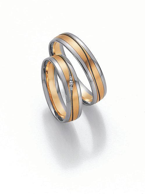 Eheringe Verlobungsringe Gold mit Diamant