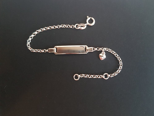 925 Silberarmkette ab 10 cm bis 16 cm mit Gravur