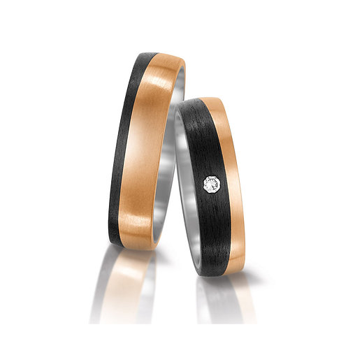 Ring Eheringe Verlobungsringe Trauringe Hochzeitsringe Diamant Bronze