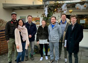 Die FOP besucht den katholischen Kindergarten in Garching :)