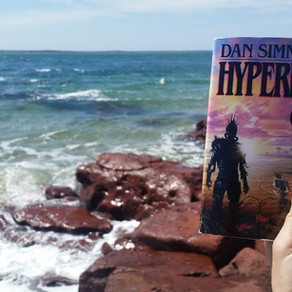 Hyperion by Dan Simmons is hard to read, but worth it