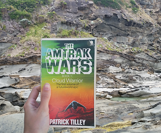 Amtrak Wars the Cloud Warrior by Patrick Tilley