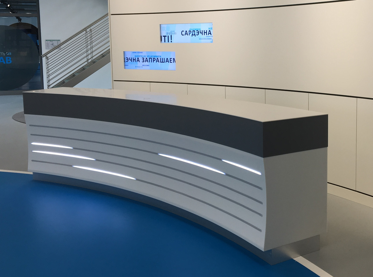 Empfangstheke LED-Effektbeleuchtung