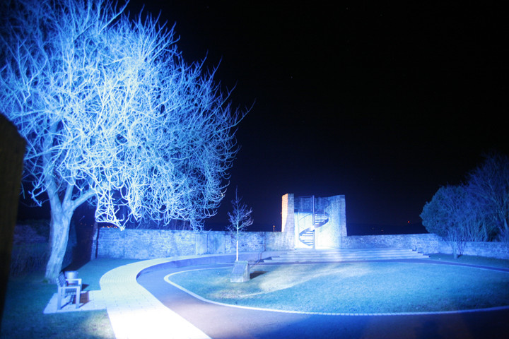 Schweigegarten in Blomberg Ingo Bracke Inszenierung