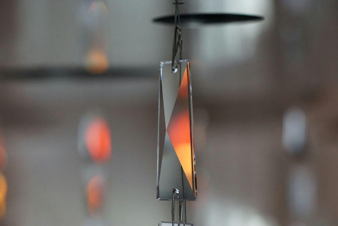 Spiegelung und Lichtspiel