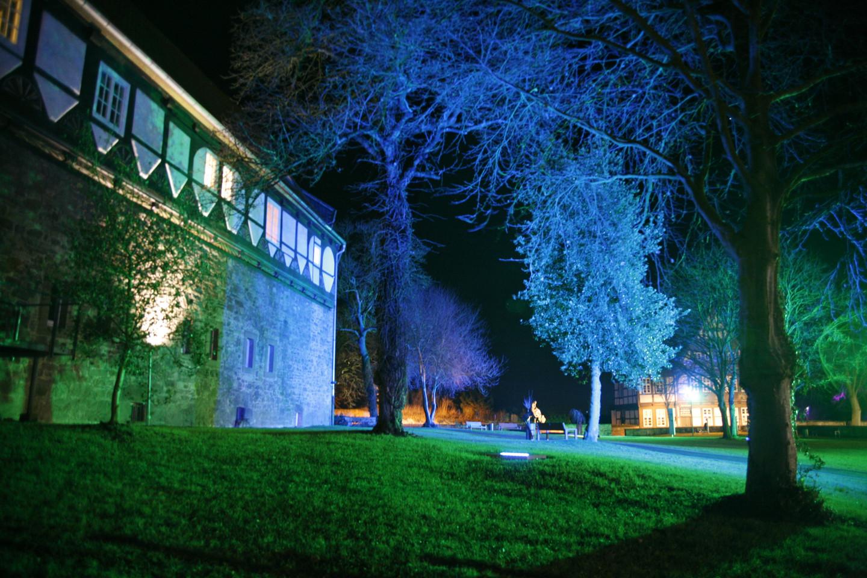 besuchen Sie den Burggarten im historischen