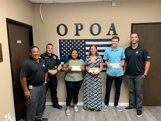 OPOA Scholarship Program Winners