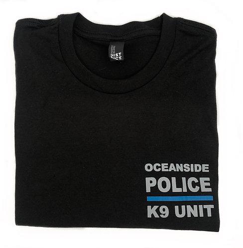 K9  Black T-Shirts