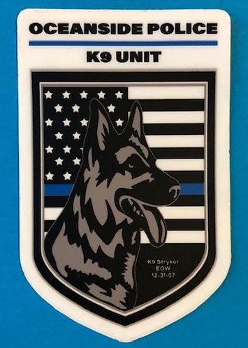 K9 Unit Stickers