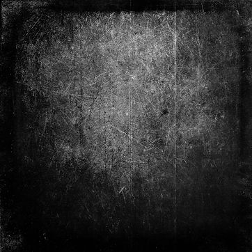 Black grunge scratched scary horror background, distressed texture with frame and space fo