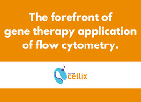 2 Key players at the forefront of Gene Therapy application of Flow Cytometry.