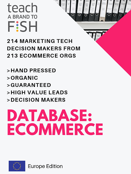 214 Ecommerce Industry Leaders from Fortune 30 to Fortune 1000 Enterprise