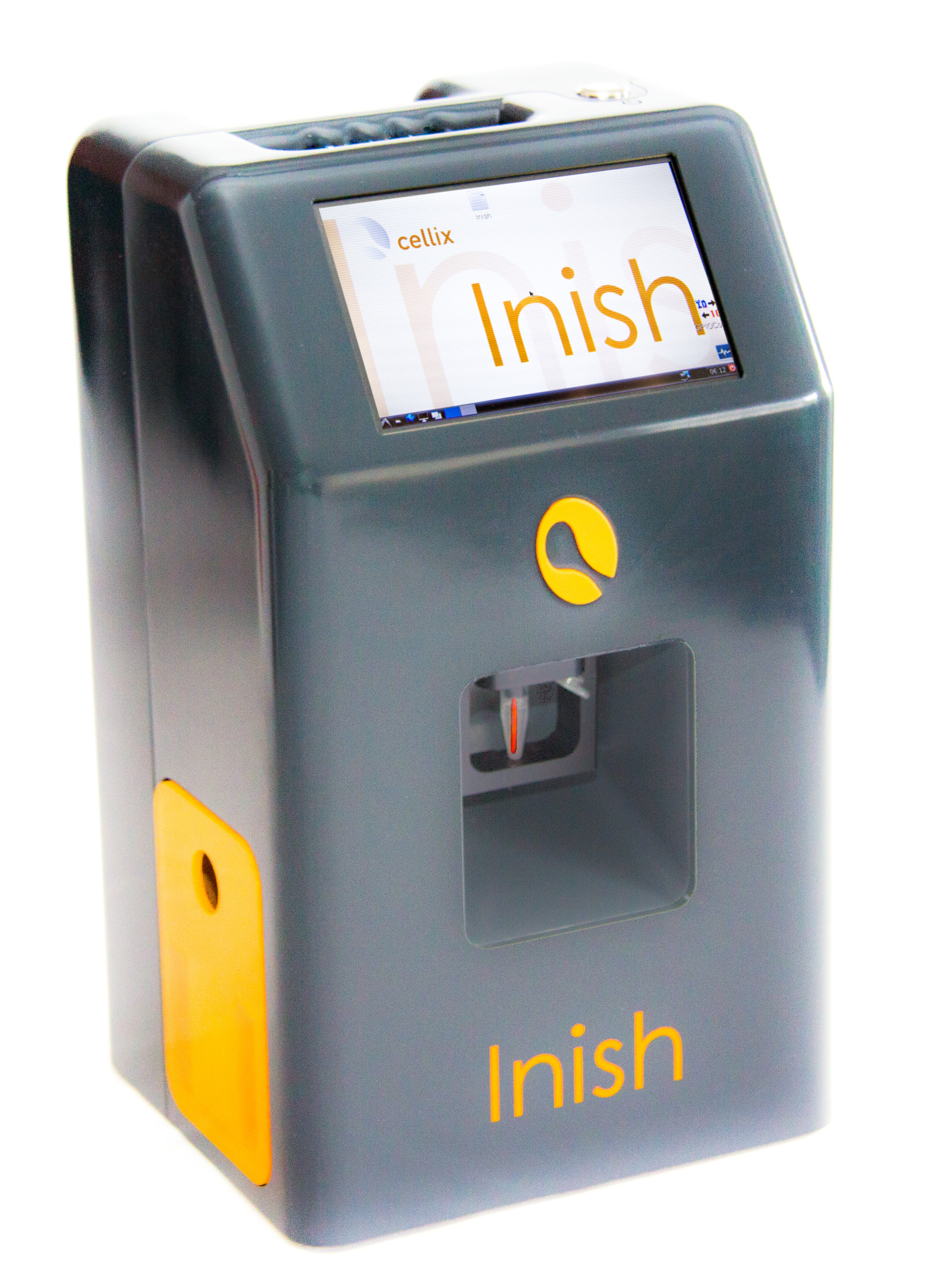 Inish Hematology Analyser Home Screen