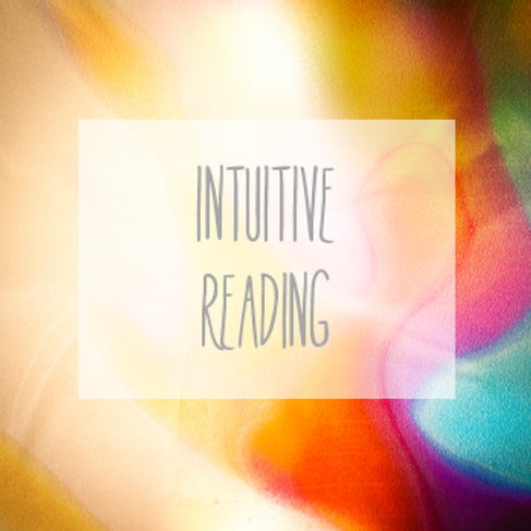 """INTUITIVE READING"""