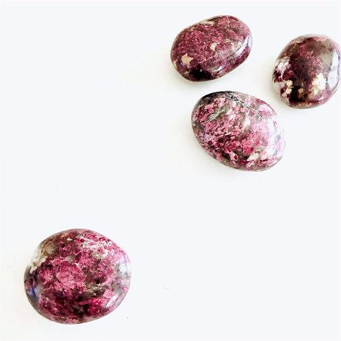 Pink Tourmaline (Palm Stone)