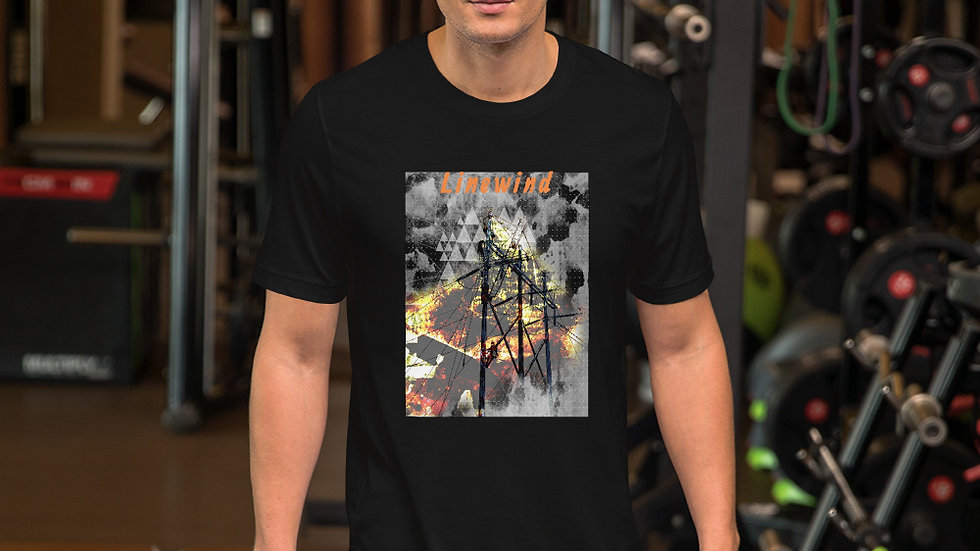 Short-Sleeve On Fire T-Shirt