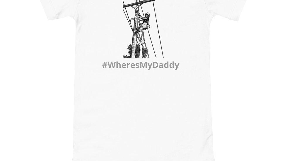 Onesie #WheresMyDaddy Lineman Climbing