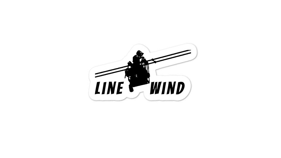 Bubble-free stickers Linewind Lineman Cart
