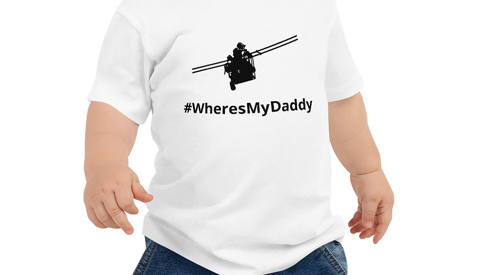 Baby Jersey Short Sleeve Tee #WheresMyDaddy
