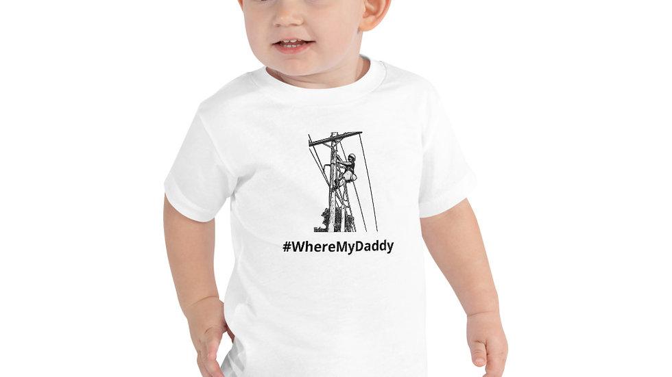 Toddler Short Sleeve Tee #WheresMyDaddy