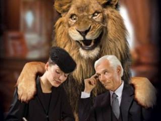 O Leão quer ficar com 20% da sua herança.