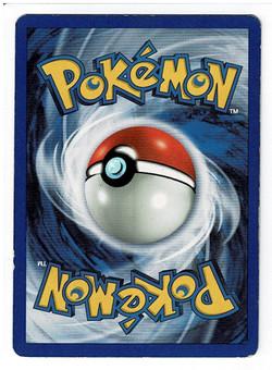 Pokemon Base Set 2 Poliwrath Back