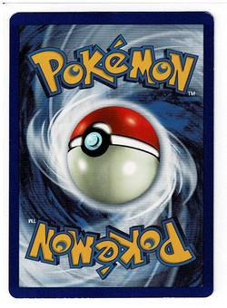 Pokemon Jungle Clefable 1st Edition Back