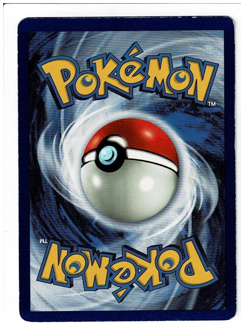 Pokemon Base Set Clefairy Back