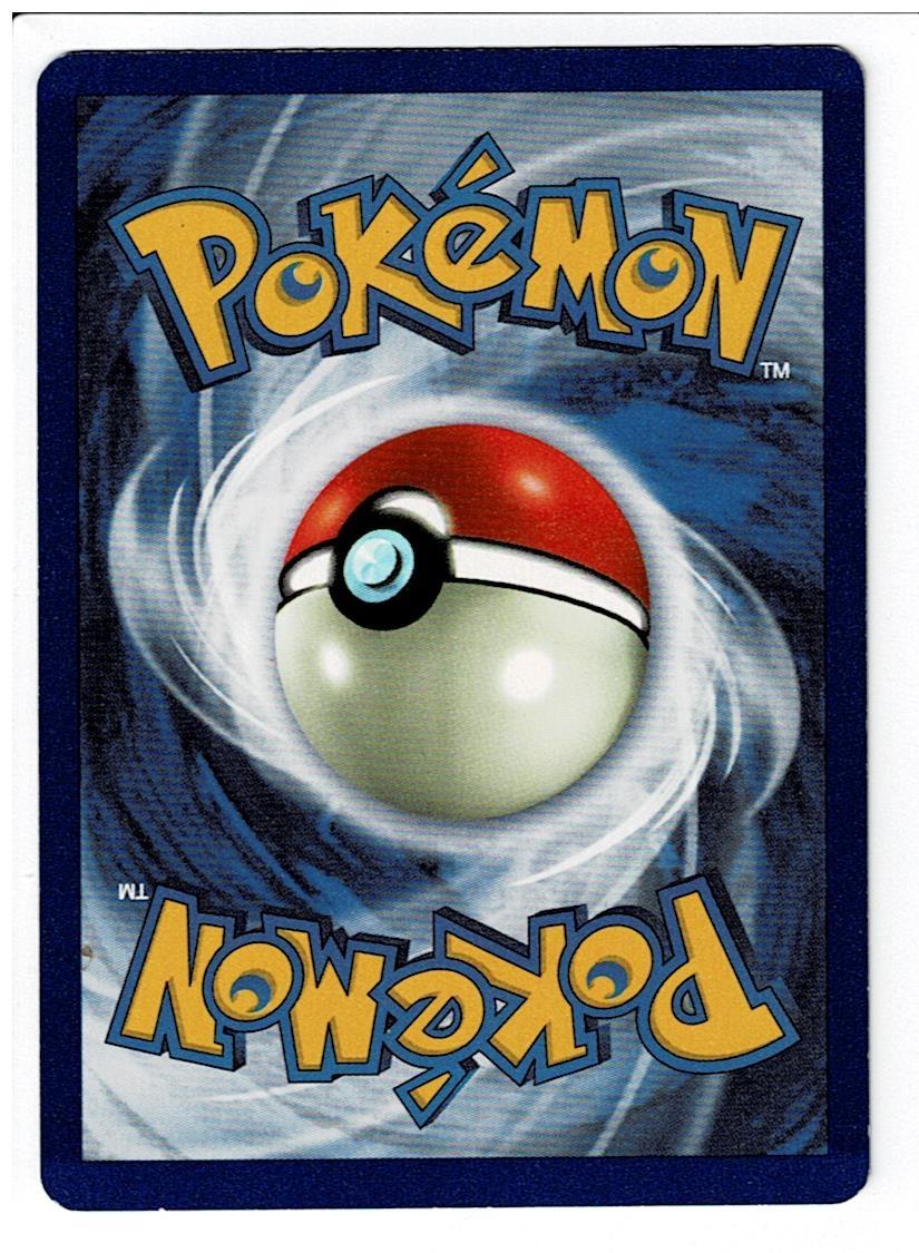Pokemon Jungle Venomoth 1st Edition Back