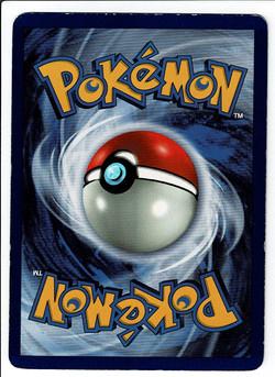 Pokemon Base Set Blastoise Back