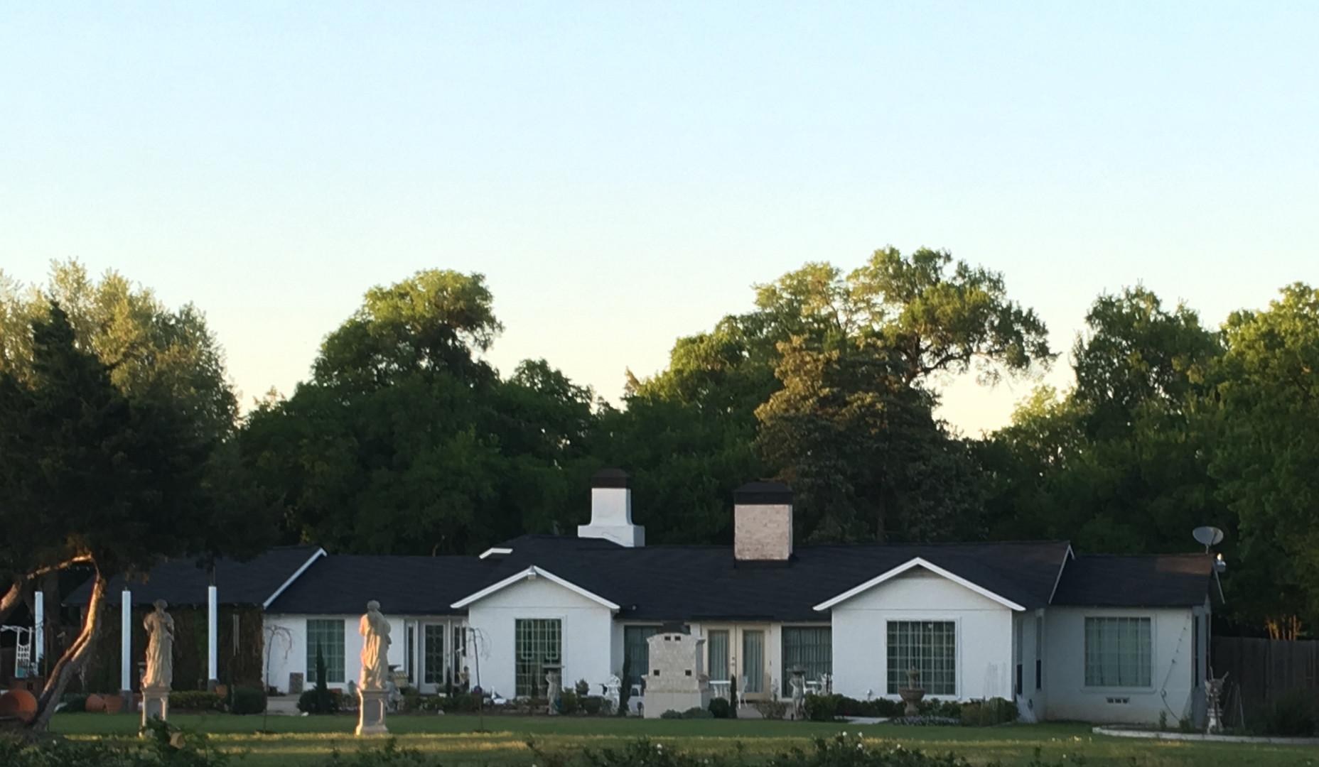 New roof | Trim | Masonry
