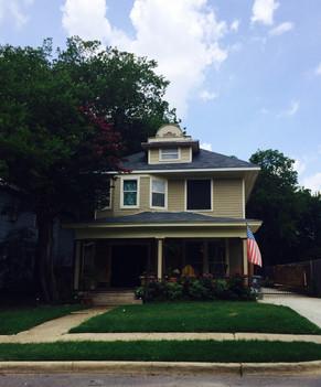 New roof for E. Dallas Home