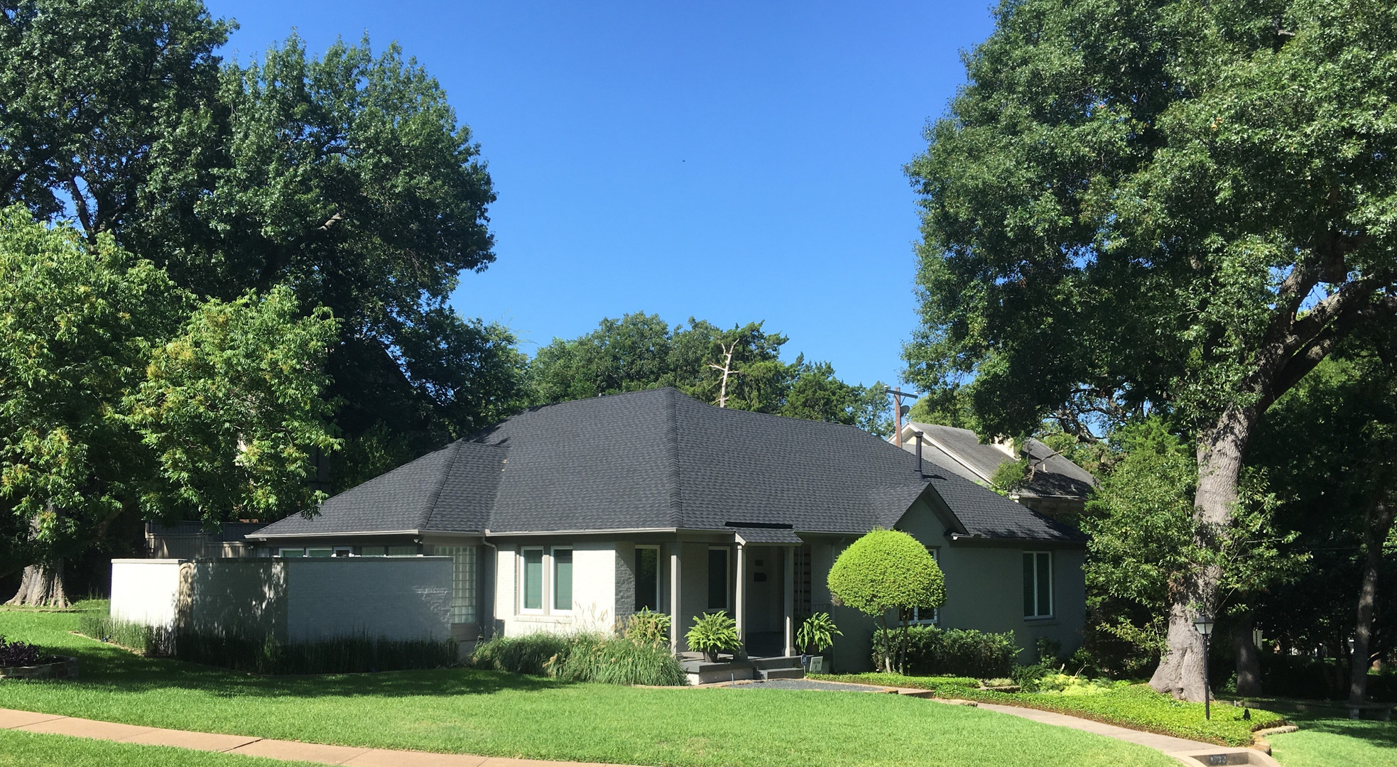 New roof & New Palette