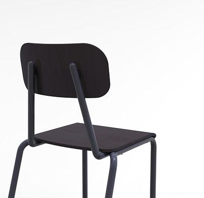 """Monochrome chair for """"La criée of Marseille"""""""