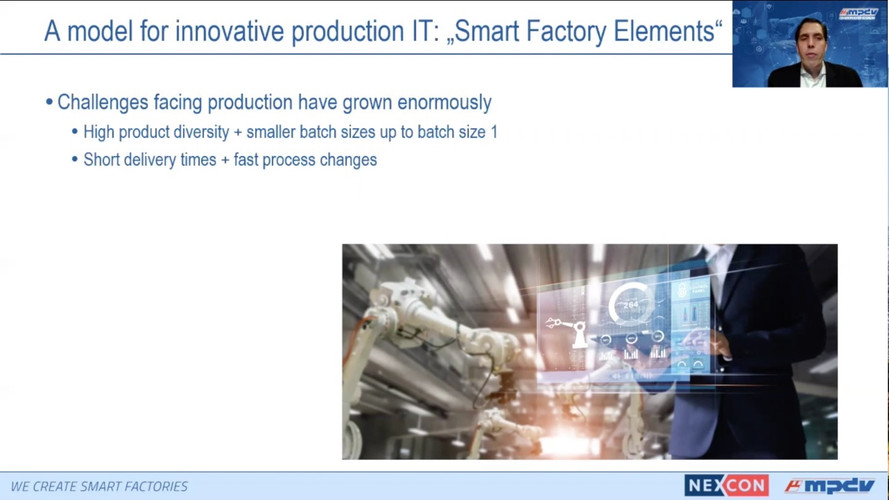 Smart Factory elements – Building blocks for factory digitalization