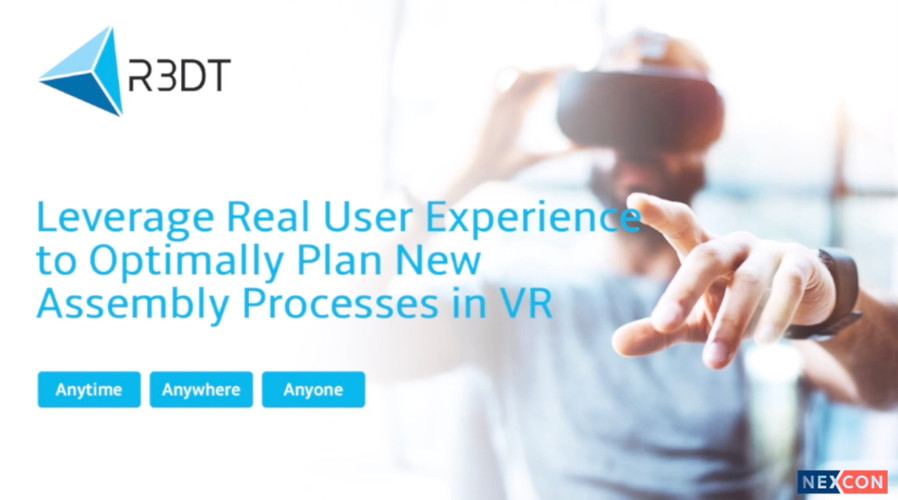Leverage Real User Experience to Optimally Plan New Assembly Processes in VR