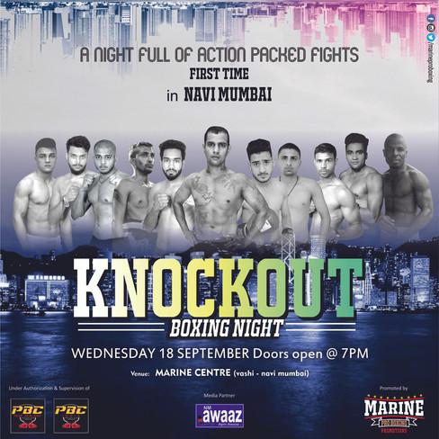 Knockout Boxing Night