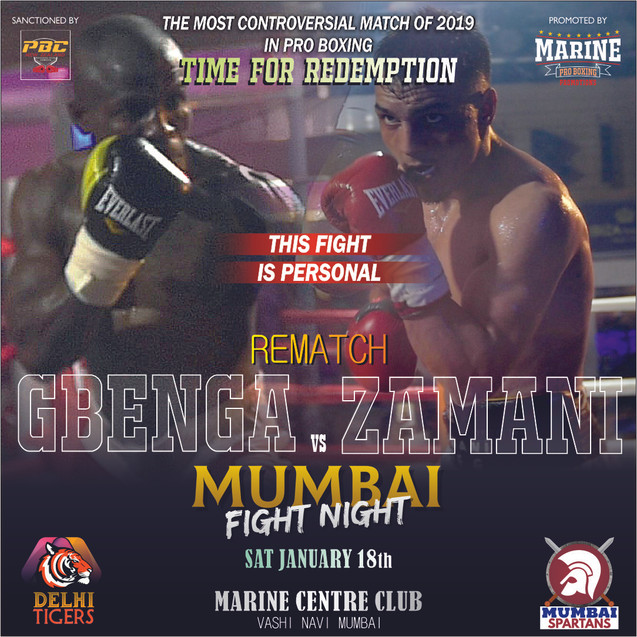 Mumbai Fight Night 1.0